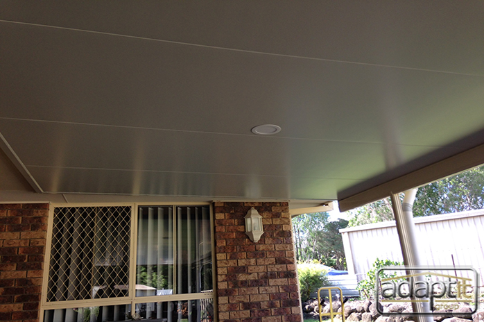 LED lights in the insulated roof panels