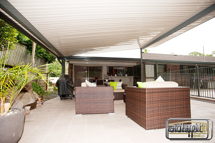 High Gloss Skillion Patio Roof