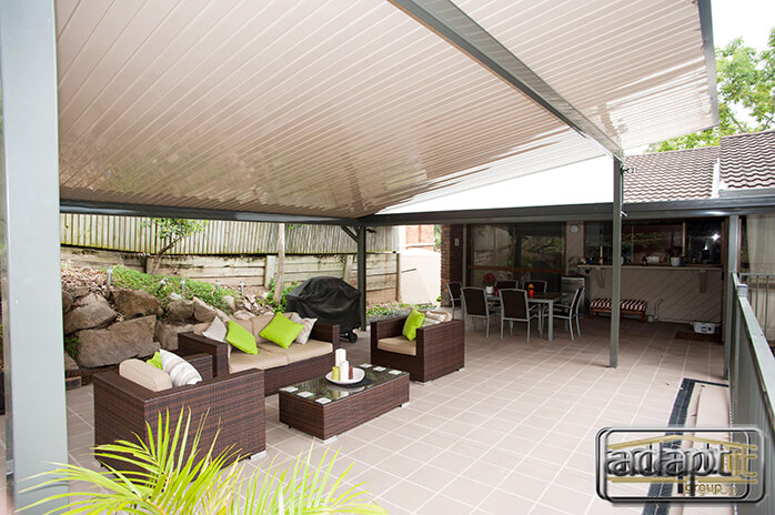 High Gloss Skillion Patio
