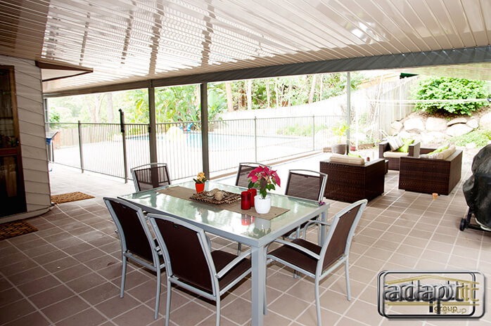 High Gloss Patio Roof