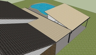 3d patio designs