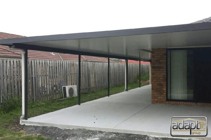 large verandah patio