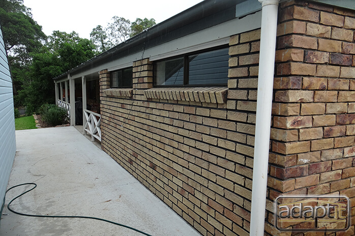 gap between new carport and house in brisbane