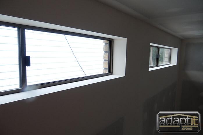 windows in new carport in brisbane