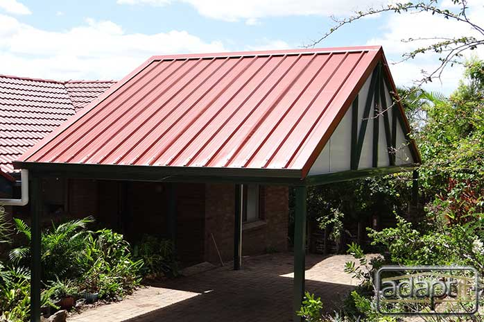 Mount Ommaney Carport changes this house forever!!