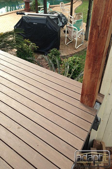 corner of deck and post brisbane