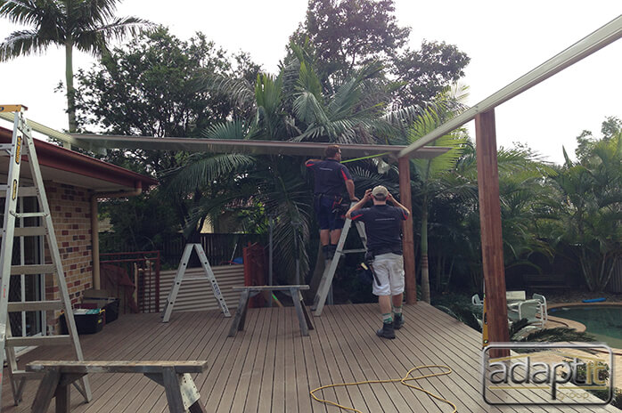 patio roof construction in brisbane