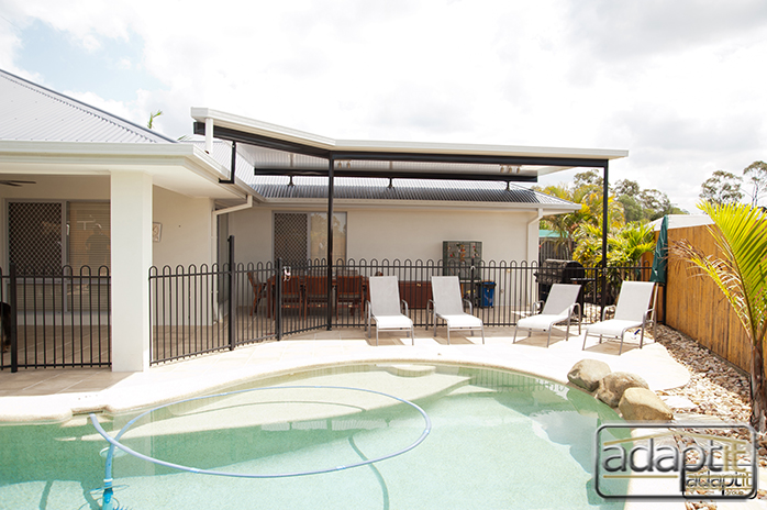 patio and outdoor entertainment area house in brisbane