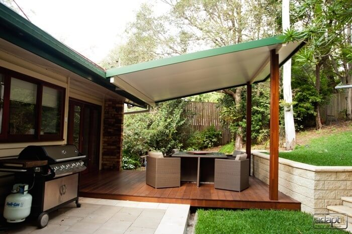 patio and deck in brisbane by adaptit