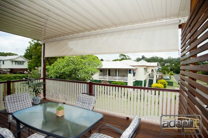 patio deck and outdoor blinds brisbane