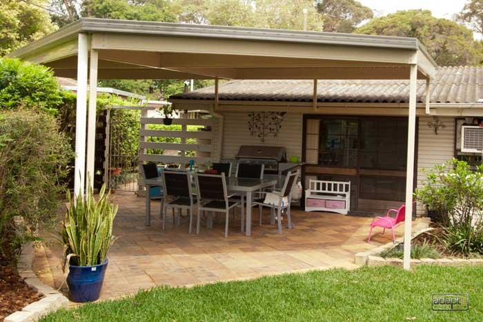 Patio in Albany Creek