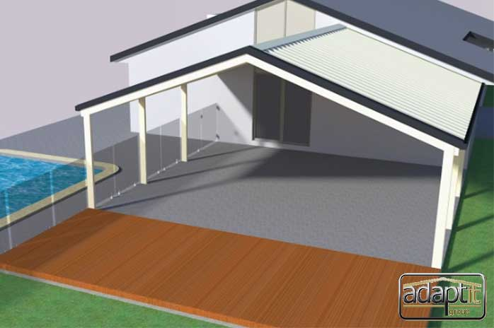 3D Patio & Pool Design