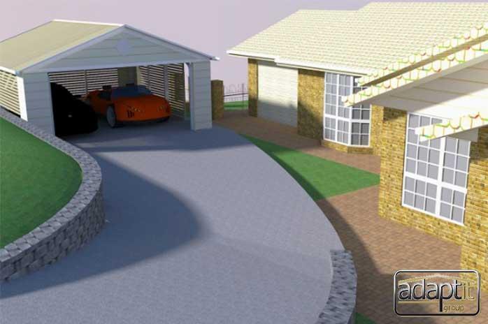 3D Carport Design