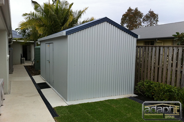 garden shed brisbane job photos