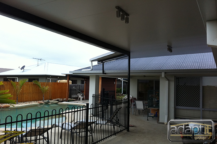patio roof brisbane job photos