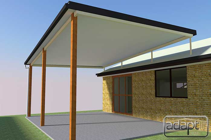 render 3d patio designs
