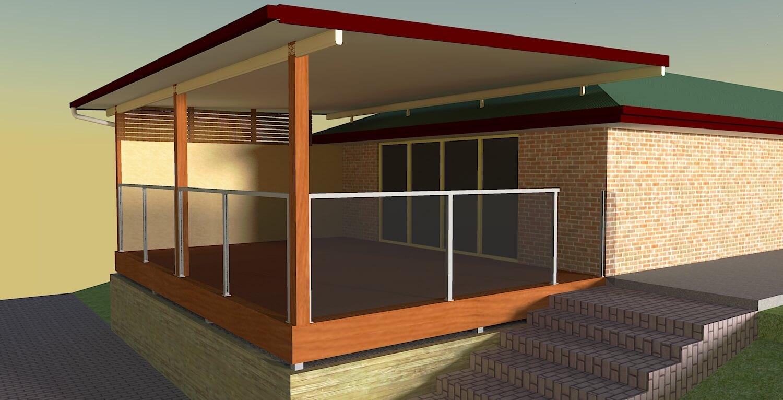 render 3d patio designs brisbane