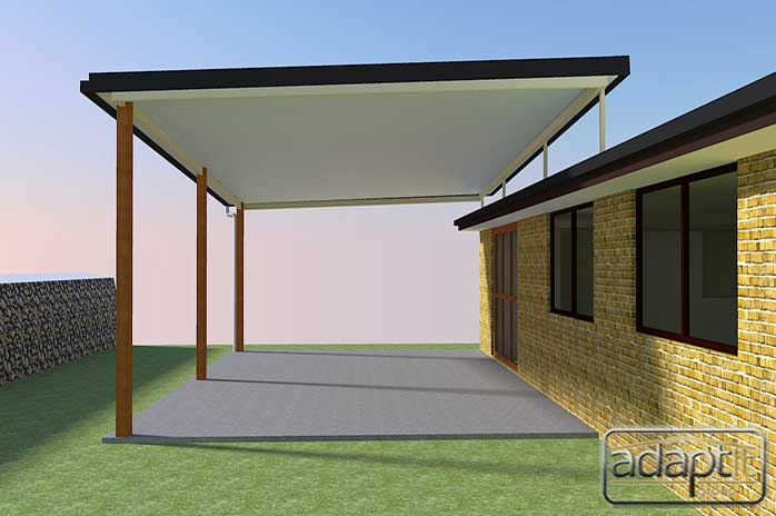 render 3 d patio roof designs