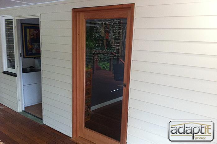 door from patio