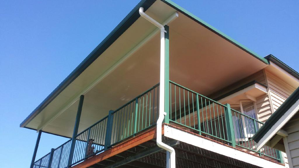 Brisbane City Views!! Kwila Deck & Insulated Patio Roof in Holland Park