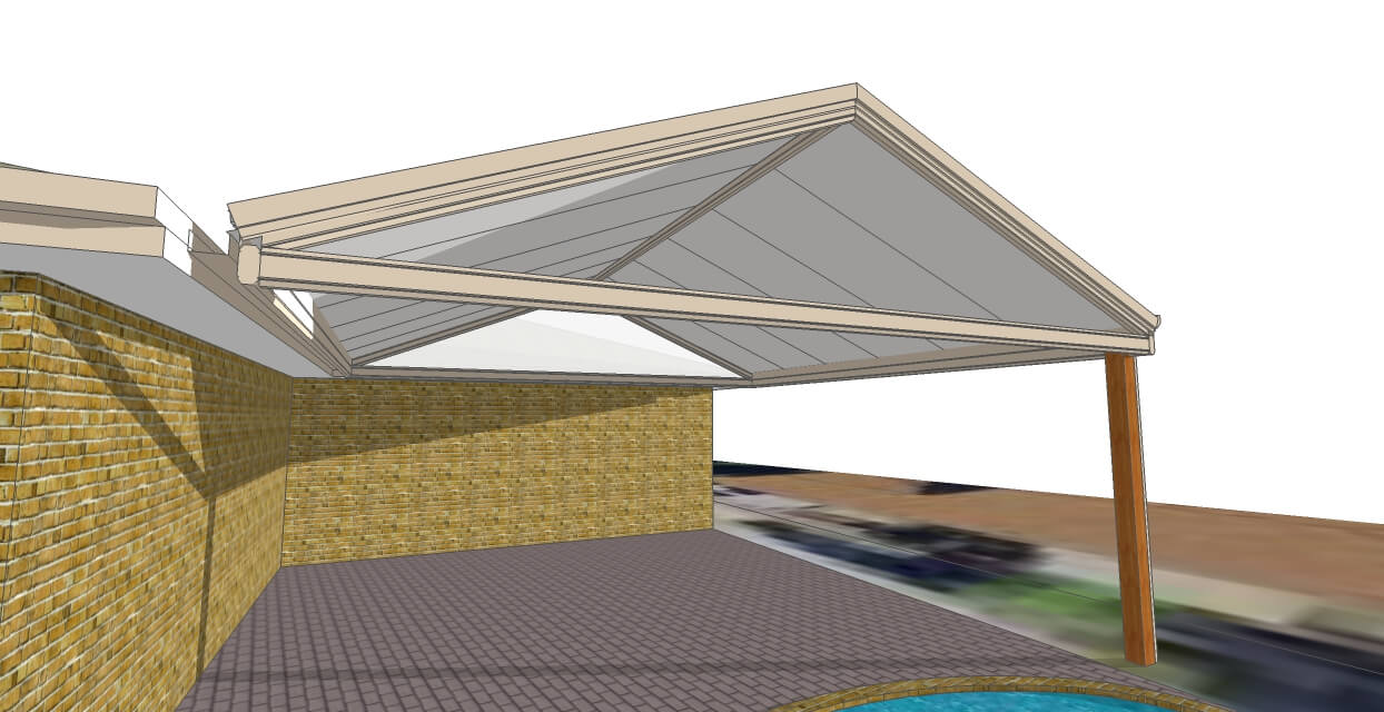 Insulated Gable in Upper Kedron changes a home forever!!
