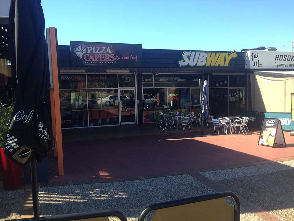 subway store gets insulated patio on brisbane northside