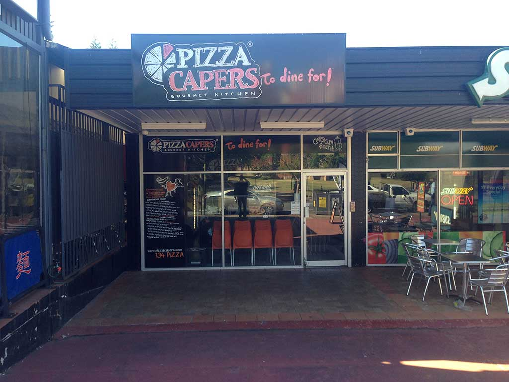 pizza capers gets a patio in brisbane suburbs