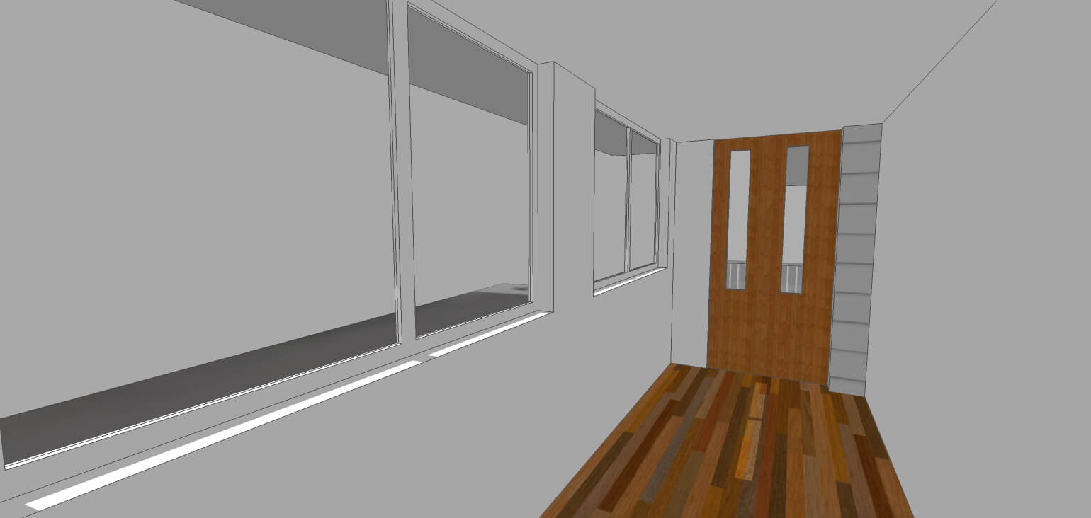 3D Model of new room