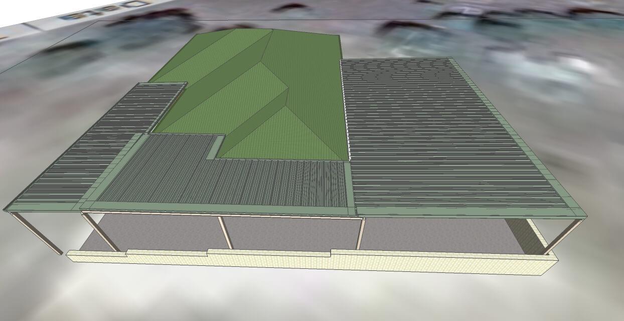 3d model queenslands largest patio flyover