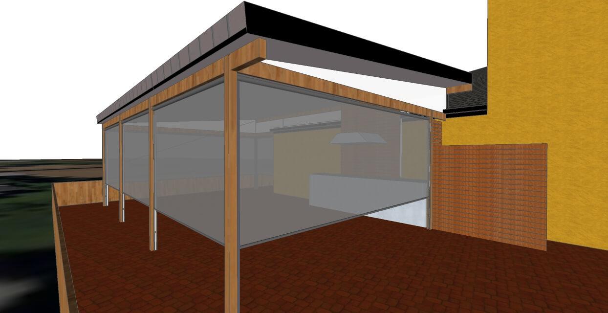 3d model of patio designs