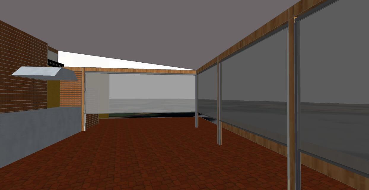 3d model patio enclosure brisbane