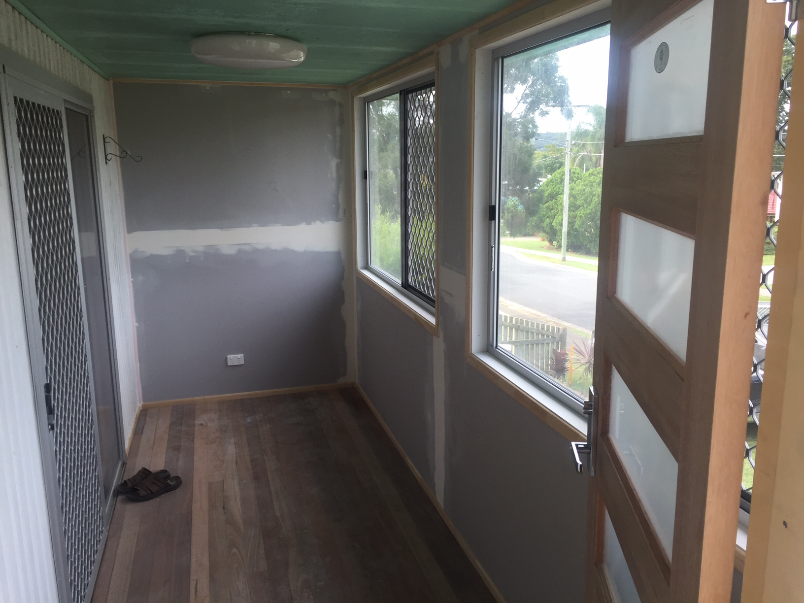 new verandah give more space