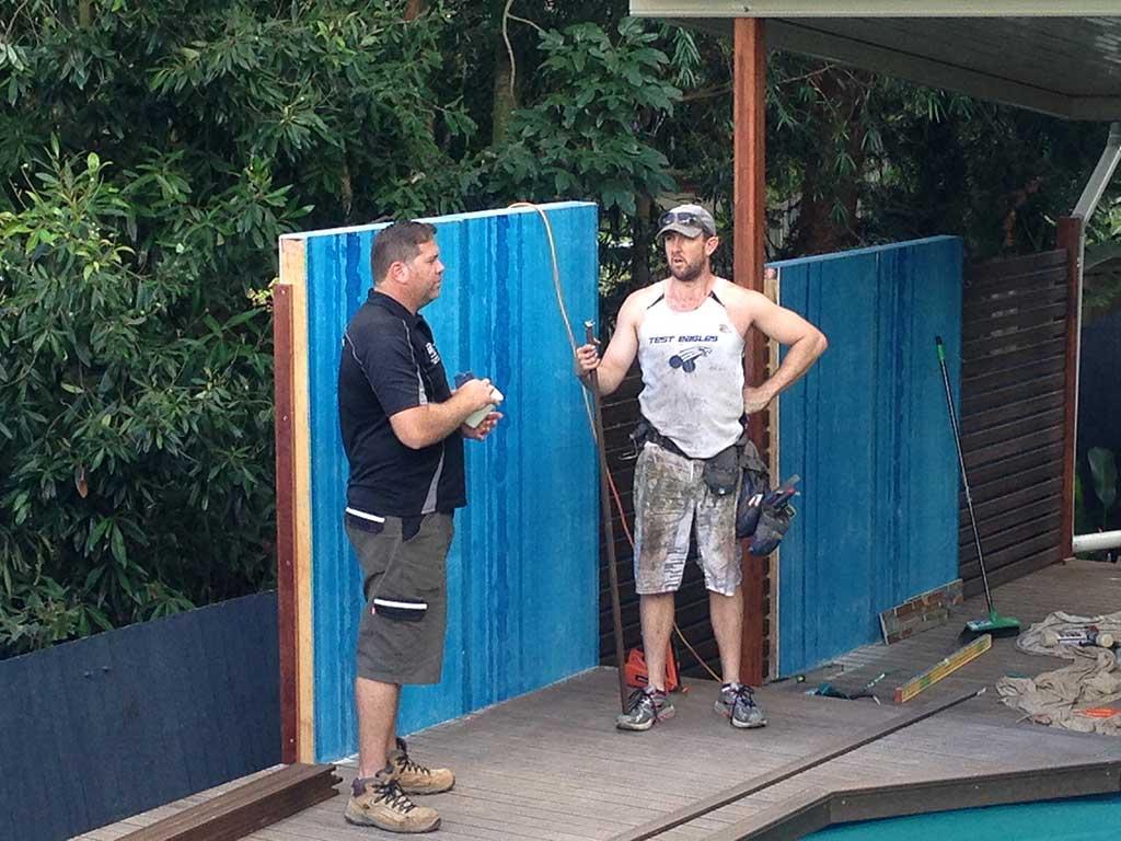 measuring pool decking brisbane