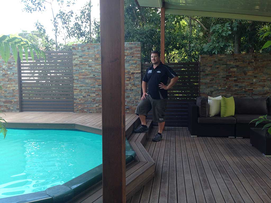 Adaptit deck builders brisbane with completed deck