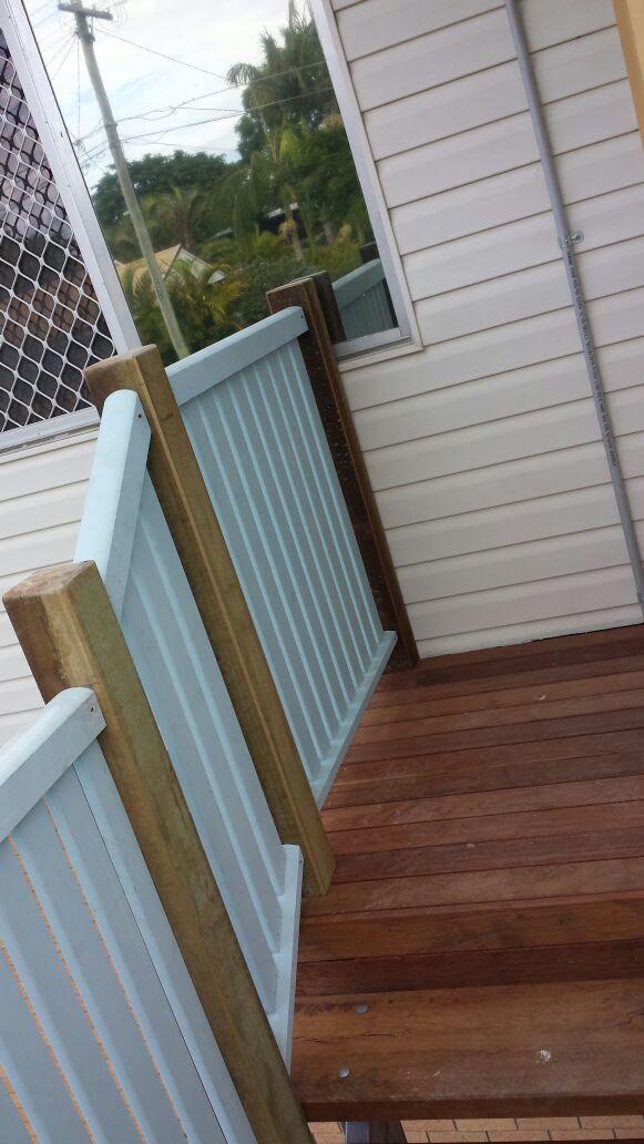verandah rebulid by Adaptit