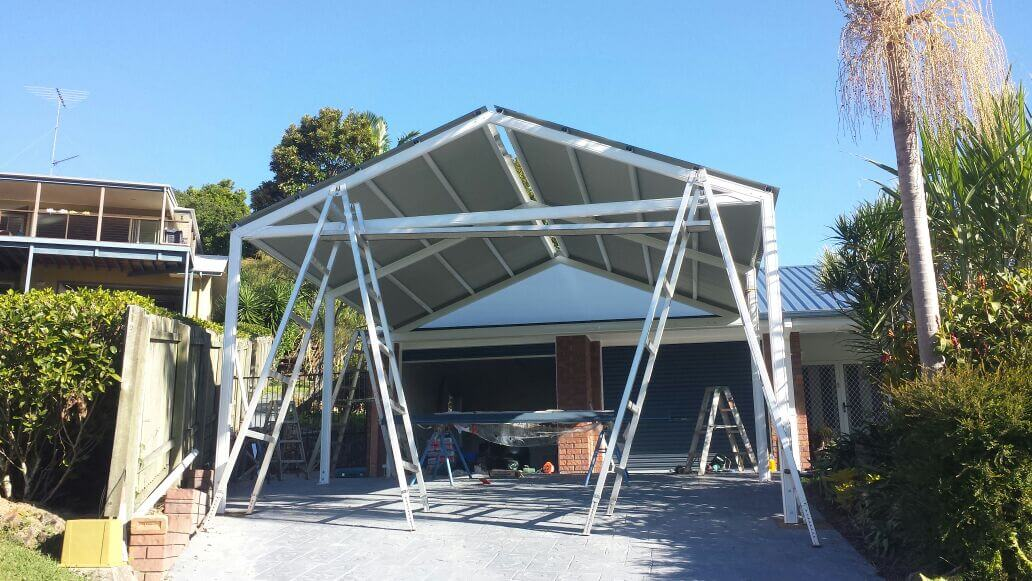construction of brisbane carport