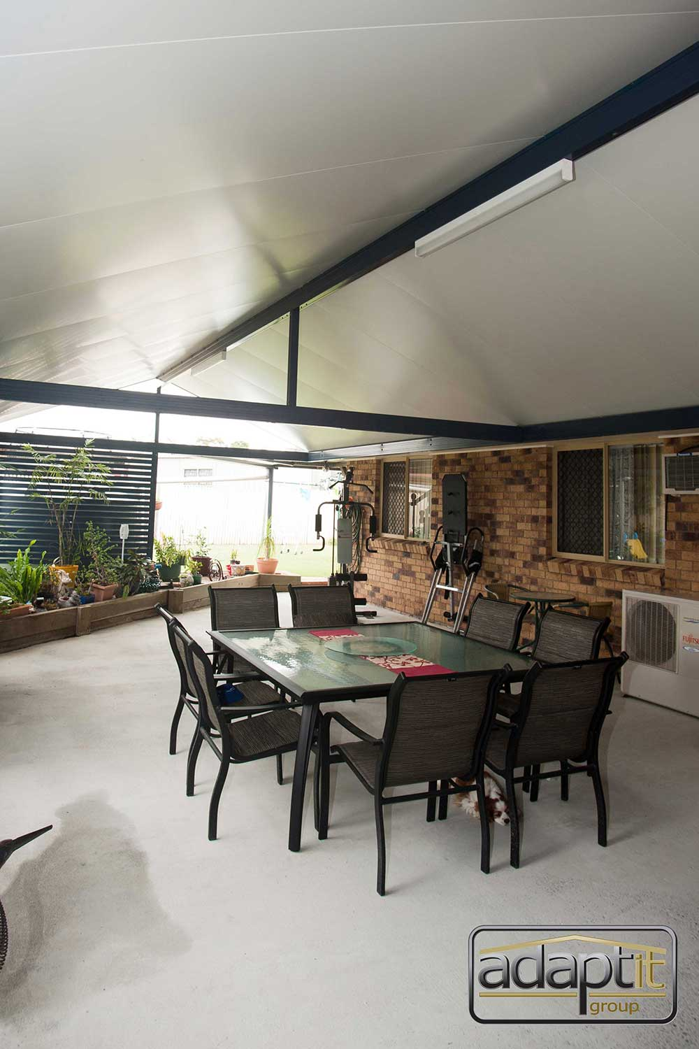 Outdoor Gable Patio
