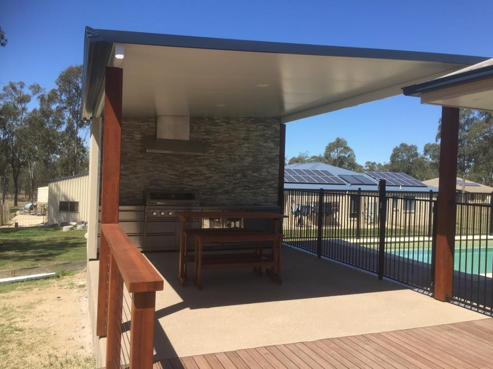 pool deck and outdoor patio brisbane