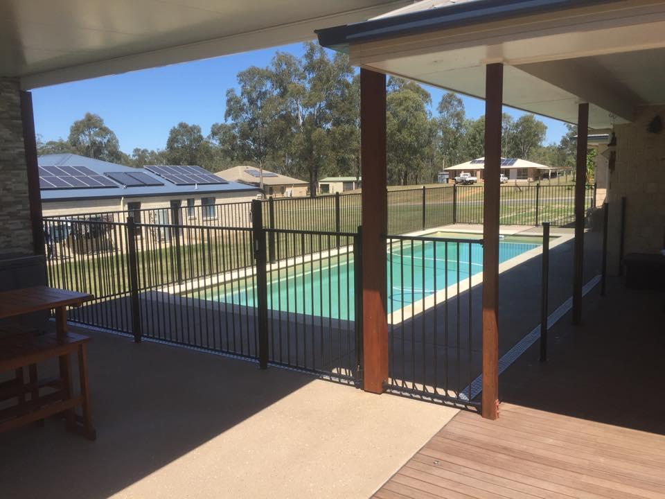 Ground Level Deck Pool
