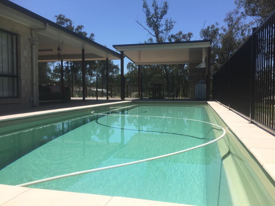 Pool Ground Level Deck