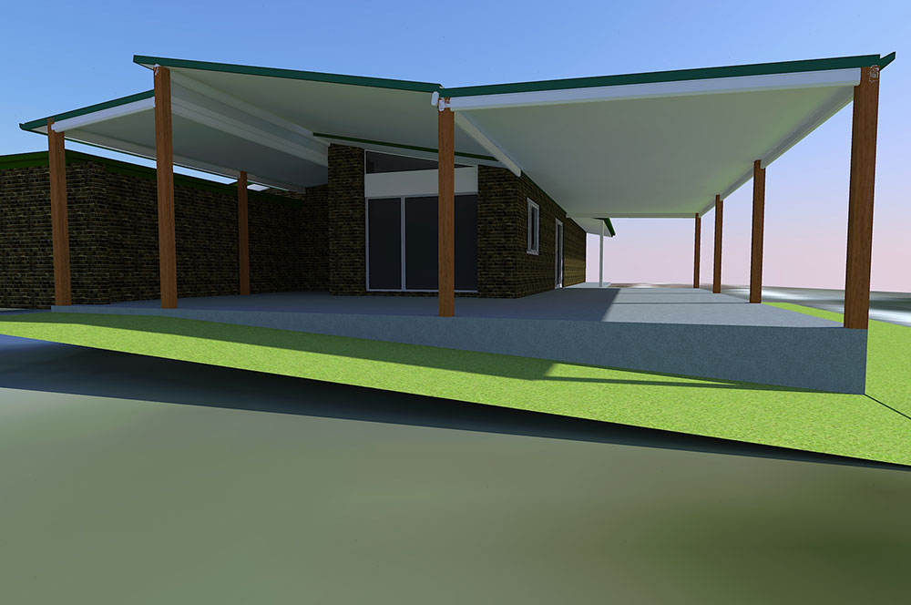 3d model Perspective 1