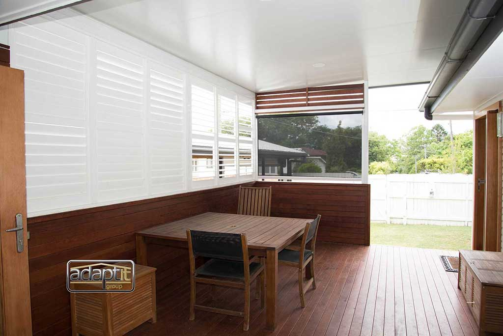 Timber Decking with Flyover Roofing Brisbane