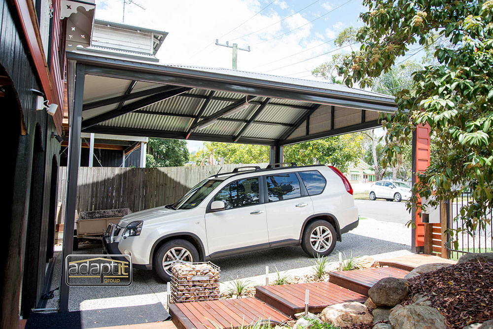 Pitched Roof Carport Design Brisbane