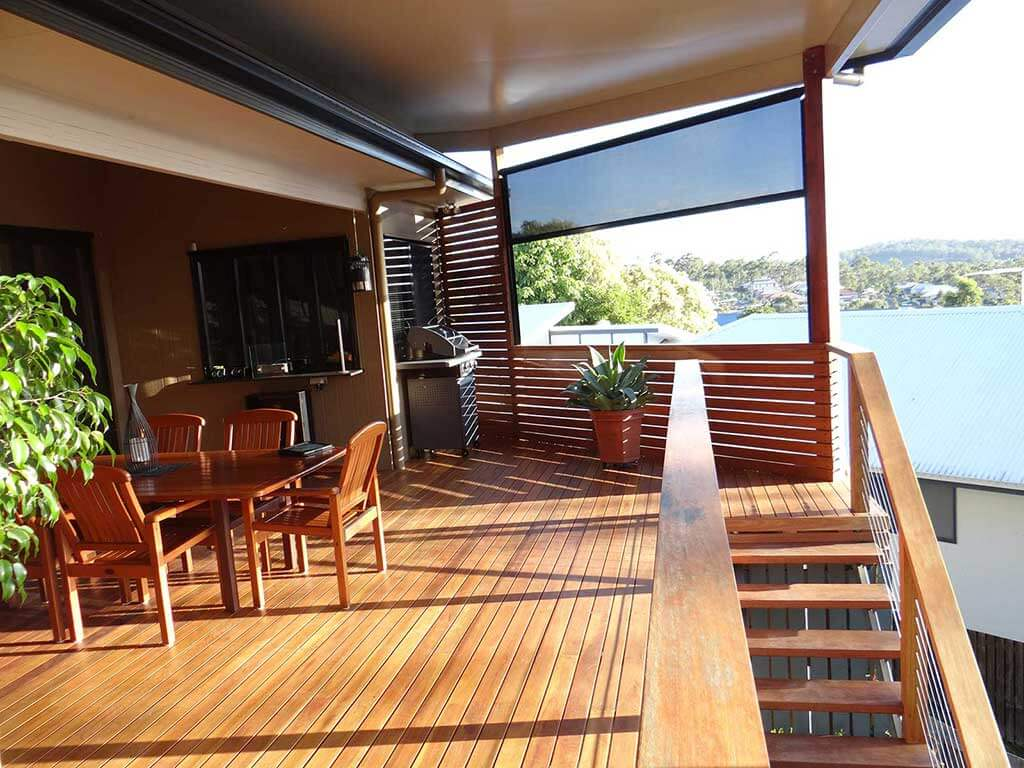 Timber Decks with Flyover