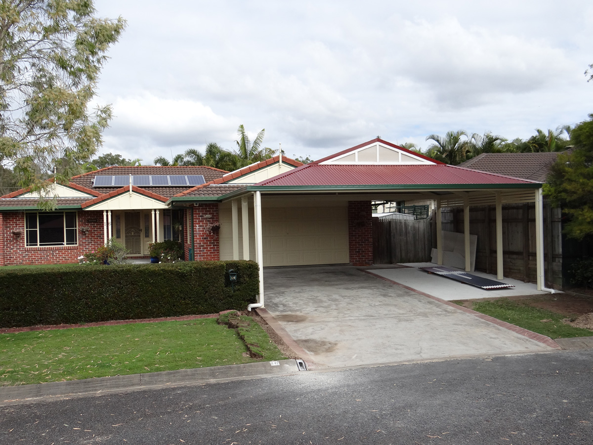 Dutch Gable Carport Design Brisbane
