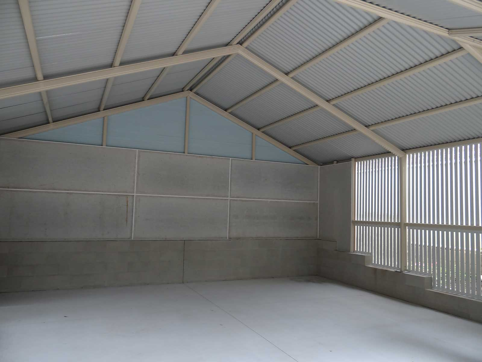 interior of gable carport brisbane suburbs