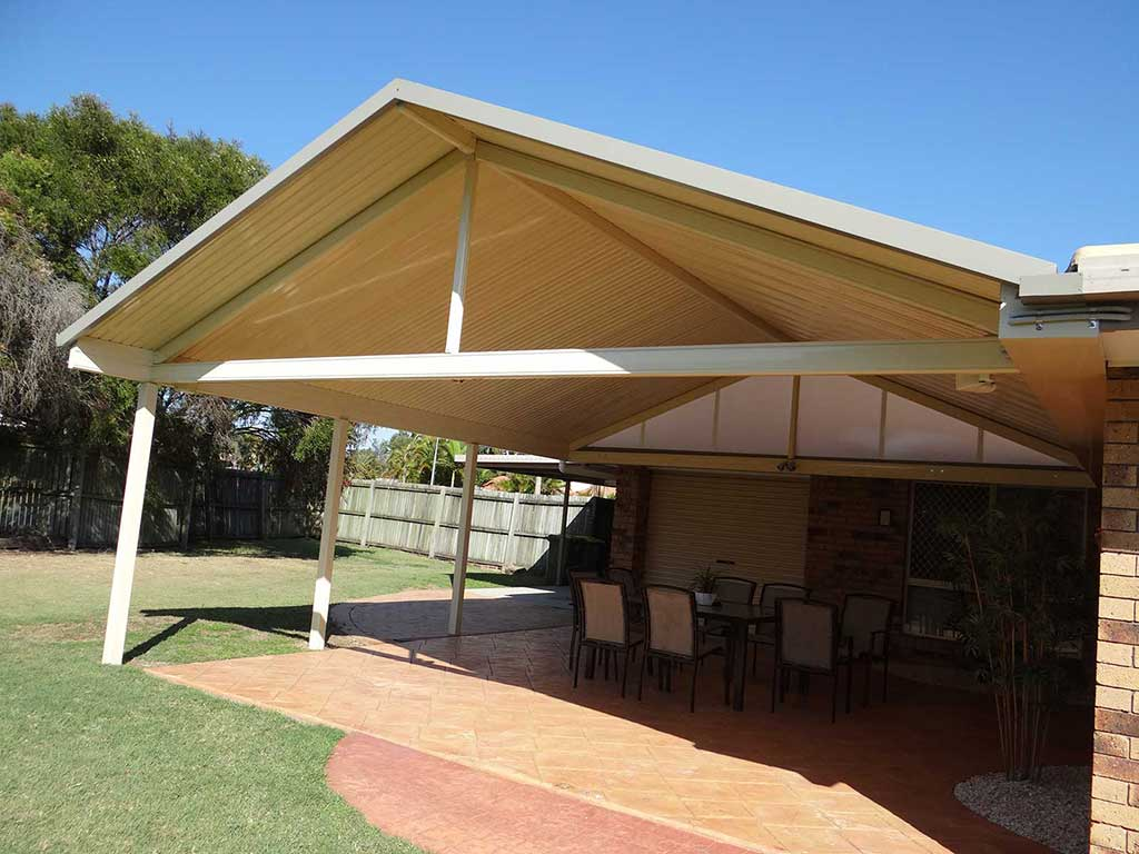 Gable Roof Patio Brisbane