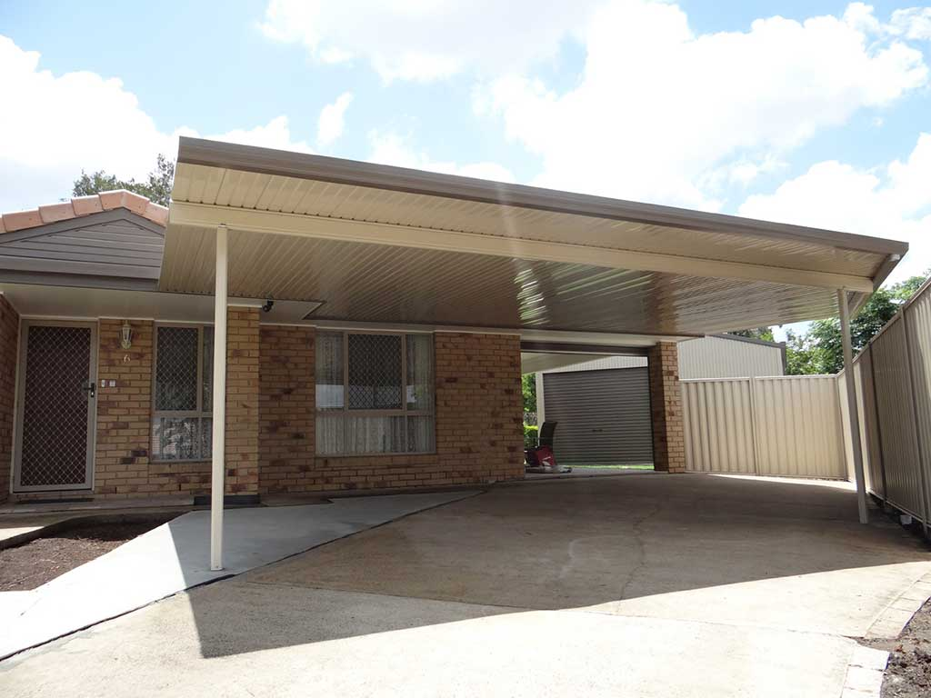 Flat Carport Roof Design Brisbane