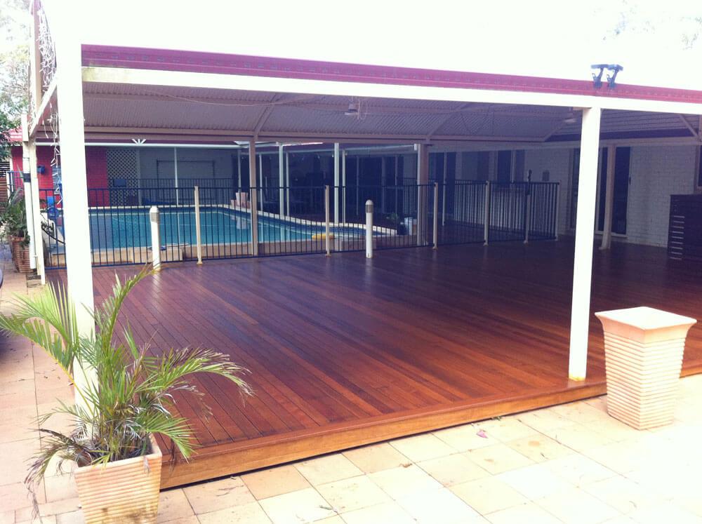 Floating Floor Deck Timber Brisbane