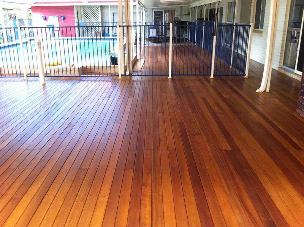 Outdoor Timber Decking Design Brisbane